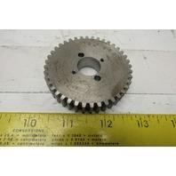 """434 B355 66.25mm OD 1/2"""" W 40 Teeth Spur Gear 11/16"""" Bore"""