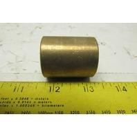 "Bunting E 463 1620 12 1"" Bore ID Brass Flywheel Bushing 1-1/4"" OD"