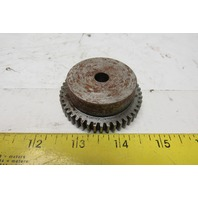 """Boston NSS2045 2-1/4"""" OD External Tooth Spur Gear 45T 14.5° 3/8 Rough Bore"""