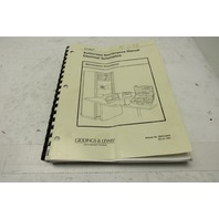 Giddings & Lewis 58006444A Cordax Authorized Manual Electrical Schematics