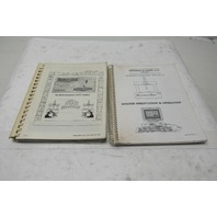 Giddings & Lewis 58010003 Measure Max  Operation & Training Manuals 2 Books