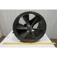 "American MFG 27"" Tube Axial Duct Fan Belt Drive 23"" Fan Blade"