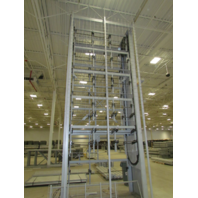 United Fixture Co. J&D JDA-1-5-144 Vertical Carousel Wire/ Hose Storage System