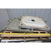 EnviroTech Sperry 800mm Injection Molding Chamber Plate & Membrane Filter Set