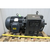 Dynamatic Ajusto Spede 30Hp 230/460V 50-1770RPM Motor 45VDC Eddy Current Drive