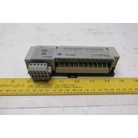 Allen Bradley 1791D-8B8P Ser C Compact Block I/O 8 Input 8 Output