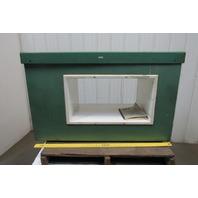 "Goring Kerr Tektamet 110V 1Ph Pass Through Metal Detector 28"" x 15"" Window"