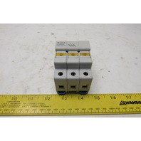 Gould USM31 Ultra Safe 30A 3 Pole 6+00V Fuse Holder