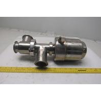"2"" Stainless Steel Sanitary Pneumatic Diaphragm Valve"