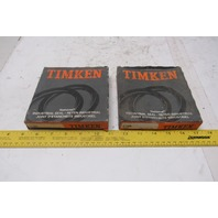 Timken 417355 3.625 x 4.875 x .0500 Oil Seal Lot Of 2