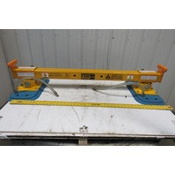 Anver 1500 Lbs. 6' Load Length Capacity Vacuum Lifter Spreader Bar