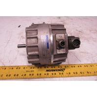 "Kollmorgen JR12M4CH 60.8VDC .53Hp 3000RPM ServoDisc DC Motor 1/2"" Shaft"