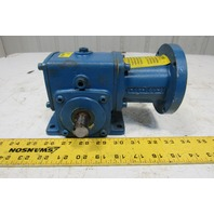 Cone Drive MH015A905-1-40 40:1 Ratio .5 Hp 3000RPM Left Hand Output Gear Reducer