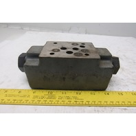 Continental Hydraulics VCDP12-M-G-A Pilot Operated Check Valve Sandwich Module