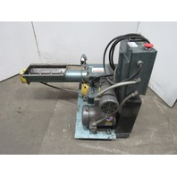 """Polymer Machine Corp. Double Cut 68 MKII 6"""" Auger Feed Granulator 5Hp 460V"""
