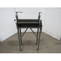 "24"" Manual Slip Roll Roller Sheet Metal Bending W/Stand"