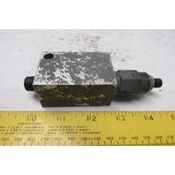 Sun Hydraulics FAA 9CG1 Aluminum Body Relief Block W/Cartridge