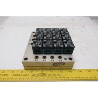 Rexroth Crouzet 81521501 Pneumatic Logic Component And Element Manifold Assembly