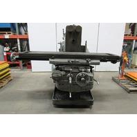 Kearney & Trecker Milwaukee Model K No. 4 Universal Horizontal Milling Machine