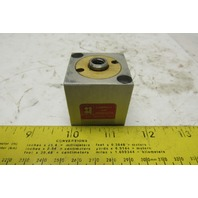 "Compact Air Products S118X34 1-1/2"" Square Bore 11/16"" Stroke Cube Air Cylinder"