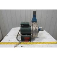 Cincinnati Fan PB8 1/2HP Cast Aluminum Pressure Blower 208-230/460V 3Ph CW-UB