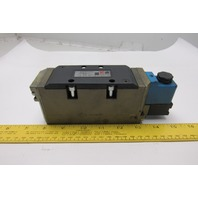 Ross W6576A3401 Solenoid Operated Pneumatic Valve 24VDC Coil