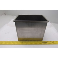 "Leedal 7-3/4"" x 5"" x 7"" Small Stainless Steel Tank"