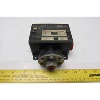 Ashcroft B424B Pressure Switch 250psi 15Amp 125/250/480 VAC