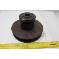 """7-1/2"""" OD Variable Speed Pulley Sheave 1"""" Wide 1-1/16"""" Bore"""