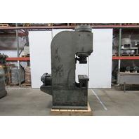 "Hannif  Chicago 70 Ton Hydraulic Press 9"" Throat 12"" Stroke 230V 3Ph"