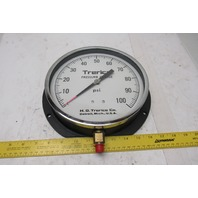 "H.O. Trerice 8"" Pressure Gauge 0-100 PSI"