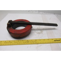 """Clausing 2285 20"""" Column Drill Press Table Adjustment Bearing Ring And Gear Rack"""