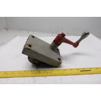 """Clausing 2285 20"""" Drill Press Head Positioning Mechanism"""