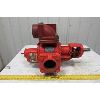 """Roper 3622 HBFRV 125PSI 750 RPM 3"""" NPT 165GPM Helical Gear Pump W/ Relief"""