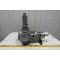 "Top Gear GP 58-80 3"" Flange Mount Internal Gear Pump W/ Relief Valve Parts AS/IS"