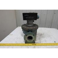 "Actaris Neptune Type MP Model 600 3"" Flange Mount Gas Flow Meter 300GPM 150 PSI"
