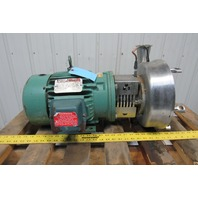 """Reliance P18G1017K 3Hp 1730RPM 230/460V 3""""x2-1/2"""" Stainless Steel Pump"""