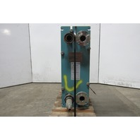 Alfa Laval M6-MFG 150PSI @ 300°F 32 Plate Heat Exchanger 45.19Sq. Ft.