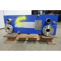 Alfa Laval M6-MFG 150PSI & 210°F 22 Plate 36.2 Sq. Ft. Heat Exchanger