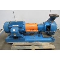 "Goulds 4X6-13 Model 3196 50Hp 230/460V 4""x6"" 140'/Head Centrifugal Pump Package"
