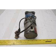 Sanyo Denki U825T-062E02 75V 250W 3000RPM DC Servo Motor W/ Shaft Encoder