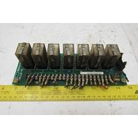 Amada S-2774 B0637A-RYOIB Relay Circuit Board