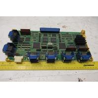 Fanuc A16B-2200-0390/11B 1-4 Axis Circuit Serial Control Board