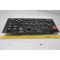 CNC Turret Punch Control Interface Button Panel