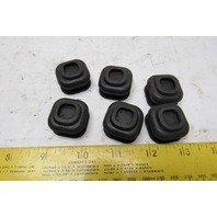 Silicone Rubber Button Protector Boot Crane Pendant Lot of 6