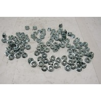 3/8-16 Zinc Coated Flange Lock Nut Lot Of 100