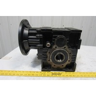 LAIPPLE KEB KEB MKS 102 V5 12.4:1 Ratio Cast Iron Gear Box Speed Reducer C Face