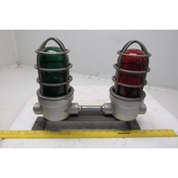 Crouse Hinds VC275-M5 Explosion Proof Industrial Red & Green Lights