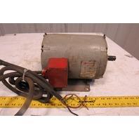 Clausing 36M60-110 1.5Hp 1140RPM 3Ph 208-230/460V AC Motor