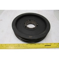 "2- C 105 SF 10-7/8"" OD 2 Groove C Section V-Belt Pulley Bushing Bore"